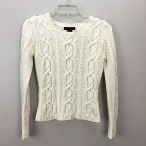 The Limited Chunky Knit Sweater Winter White